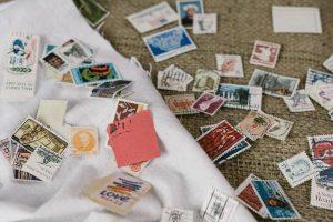 切手:メール新規作成