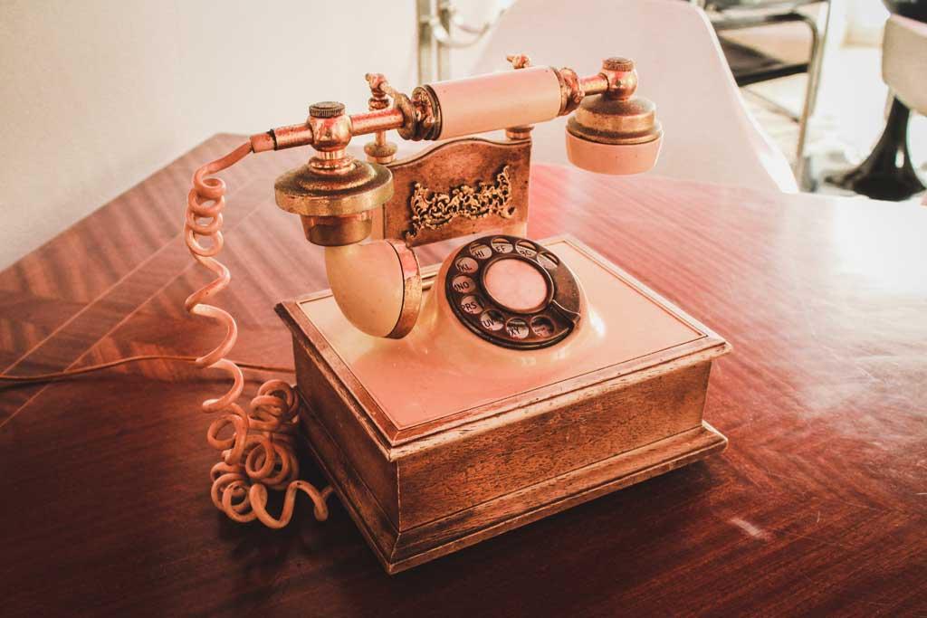 受話器:パーミッションの変更方法