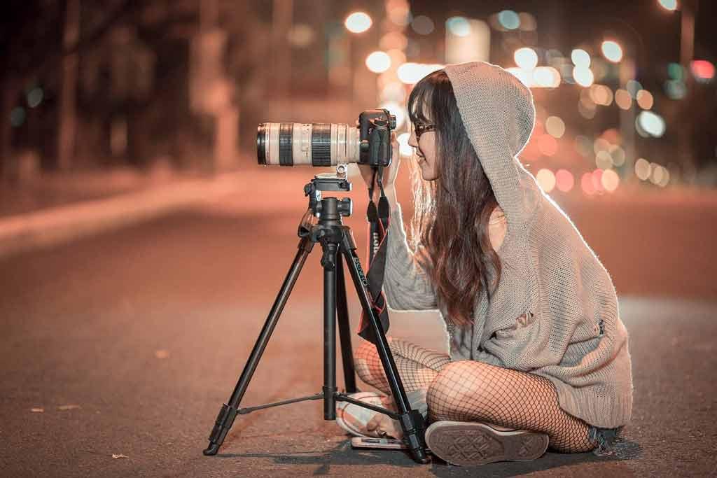 写真を撮る人:フォトショで点線を引く